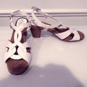 White Aerosoles A2 Women's Dress Sandal